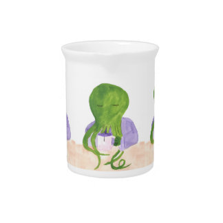 Cthulhu Has A Cup Of Tea Pitcher