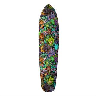 Cthulhu Lovecraft Mythos Chibi Bestiary 20.6 Cm Skateboard Deck