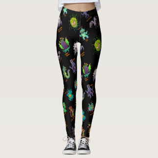 Cthulhu Lovecraft Mythos Chibi Bestiary II Leggings