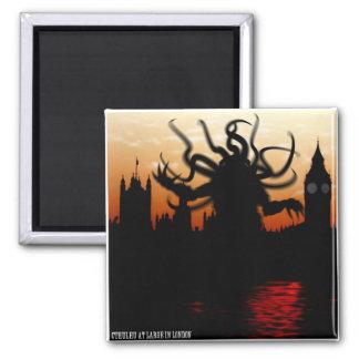 Cthulhu Loves London Magnet
