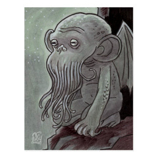 Cthulhu Monkey Postcards