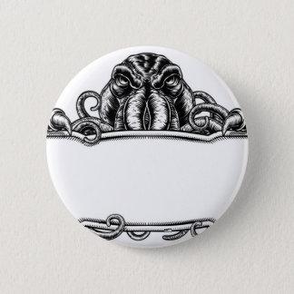Cthulhu Monster Vintage Sign 6 Cm Round Badge