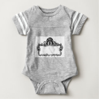 Cthulhu Monster Vintage Sign Baby Bodysuit