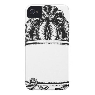 Cthulhu Monster Vintage Sign iPhone 4 Cover