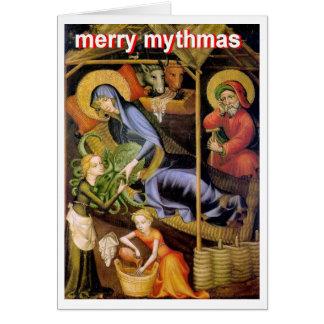 Cthulhu Nativity Card