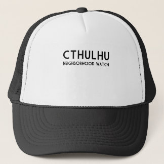 Cthulhu Neighborhood Watch Trucker Hat