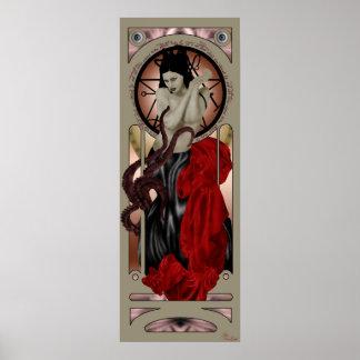 cthulhu priestess poster