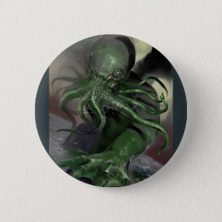 Cthulhu Rising H.P Lovecraft inspired horror rpg 6 Cm Round Badge