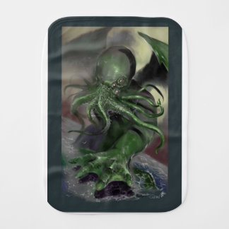 Cthulhu Rising H.P Lovecraft inspired horror rpg Burp Cloth