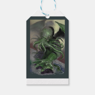 Cthulhu Rising H.P Lovecraft inspired horror rpg Gift Tags