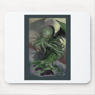 Cthulhu Rising H.P Lovecraft inspired horror rpg Mouse Pad