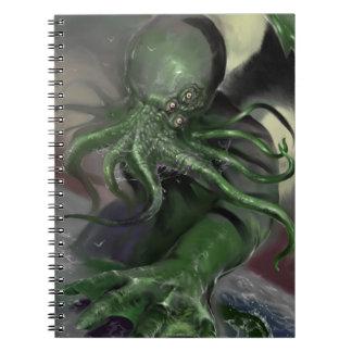 Cthulhu Rising H.P Lovecraft inspired horror rpg Notebooks