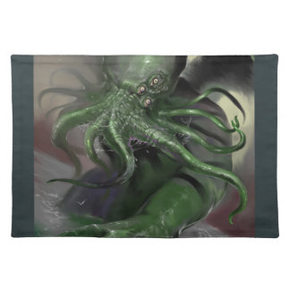 Cthulhu Rising H.P Lovecraft inspired horror rpg Placemat