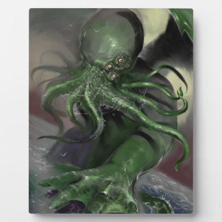Cthulhu Rising H.P Lovecraft inspired horror rpg Plaque