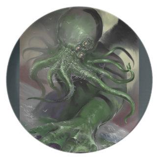 Cthulhu Rising H.P Lovecraft inspired horror rpg Plate