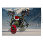 Cthulhu Santa Card