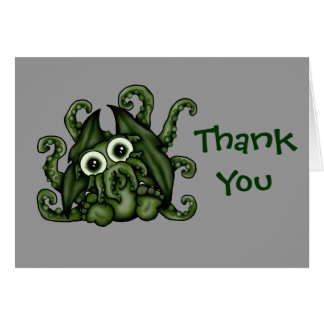 Cthulhu Thank You Cards