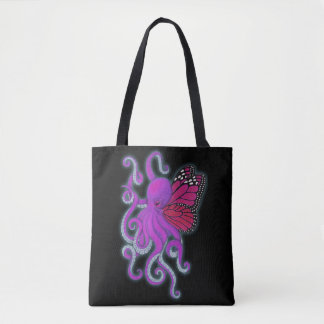 Cthulhu Tote in Purple