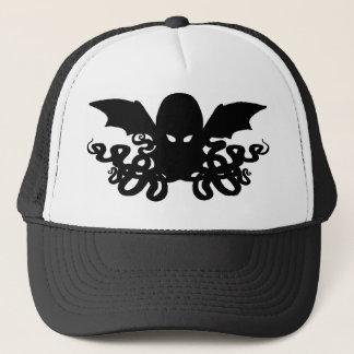 Cthulhu Trucker Hat - Black