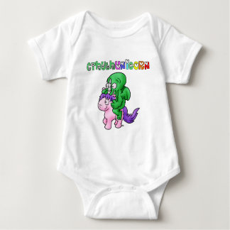 CthulhUnicorn - Word games - François City Baby Bodysuit