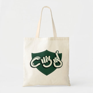 CTR in ASL. tote bag