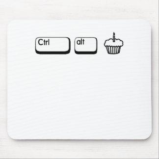 Ctrl Alt Cake Mouse Pad