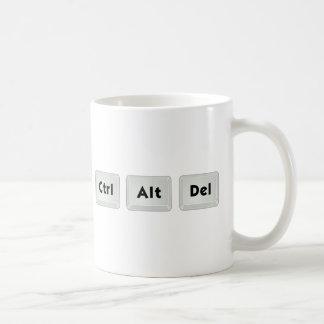 Ctrl Alt Del Coffee Mug