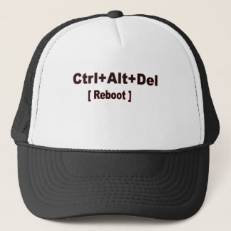 ctrl+alt+del, Reboot Trucker Hat