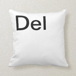 Ctrl Alt Delete Pillows Throw Cushions