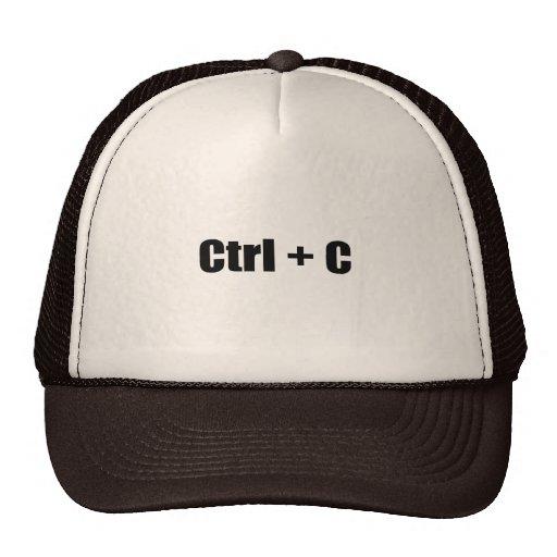 CTRL + C CAP