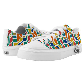 Ctrl in colors / Custom Zipz Low Top Shoes