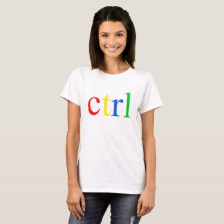 Ctrl Logo For Coder Engineer Computer T-Shirt