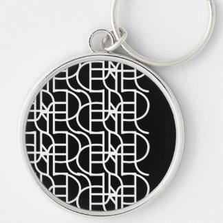 Ctrl (+w) / Large (5.4 cm) Premium Round Key Ring