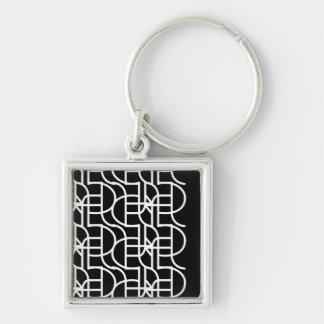 Ctrl (+w) / Small (3.5 cm) Premium Square Key Ring