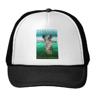Cu1ture B0mb book cover Hat