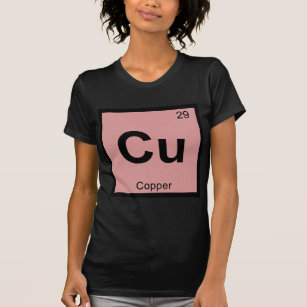 02149cf5 Copper Chemistry T-Shirts & Shirt Designs | Zazzle.com.au