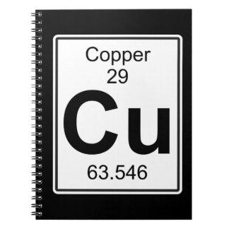 Cu - Copper Notebook