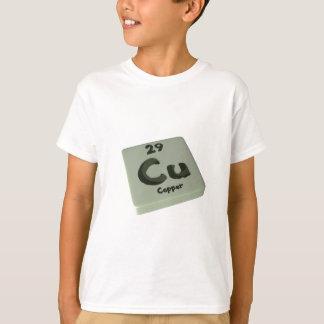 Cu Copper T-Shirt