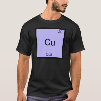Cu - Cult Funny Chemistry Element Symbol T-Shirt