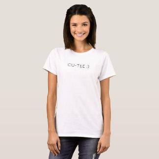 """""""Cu-tee"""" Pun Shirt Women's T-Shirt"""