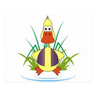 Cua The Rubber Ducky Postcard