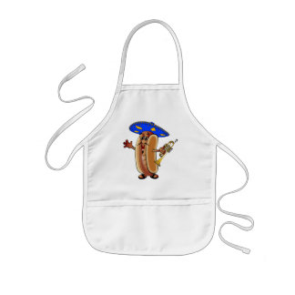 Cuauh's Mariachi Hot Dog Kids Apron