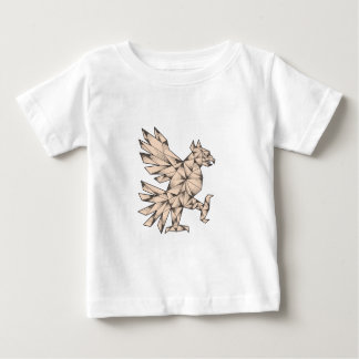 Cuauhtli Glifo Eagle Tattoo Baby T-Shirt