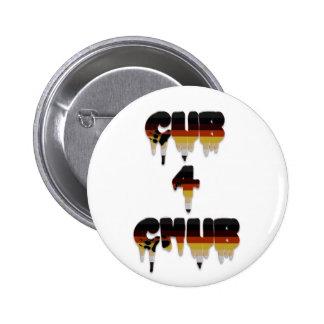 Cub 4 Chub 6 Cm Round Badge