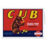 Cub Brand Lemons Card
