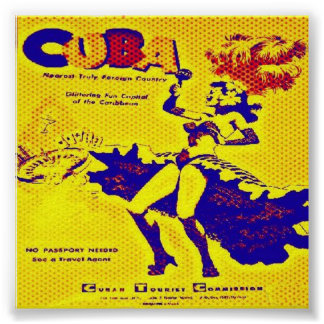 Cuba 1950's Print