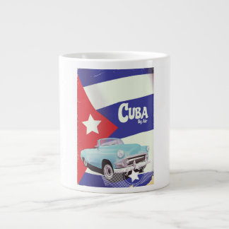 Cuba by Air Large Coffee Mug