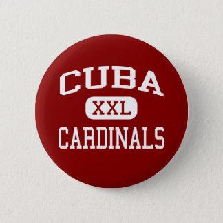 Cuba - Cardinals - Senior - Cuba Illinois 6 Cm Round Badge
