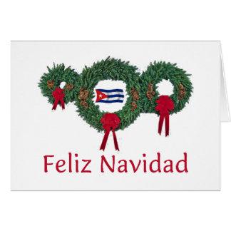 Cuba Christmas 2 Card