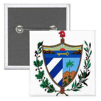 Cuba Coat of arms CU 15 Cm Square Badge
